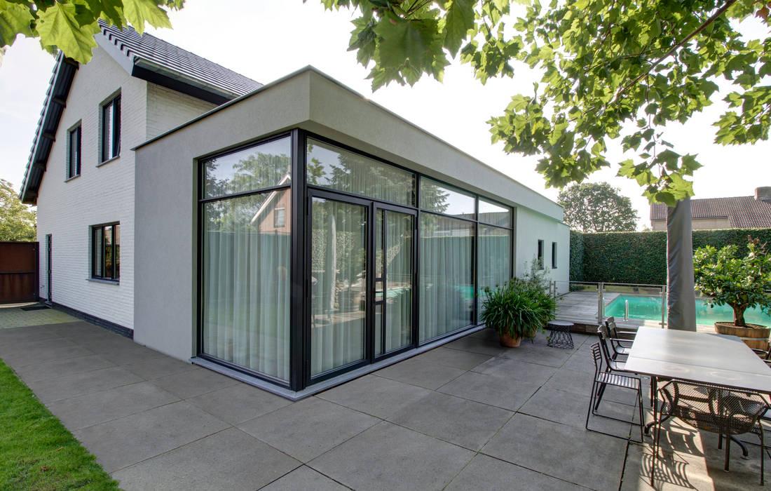woonhuis H te Heythuysen Moderne huizen van CHORA architecten Modern
