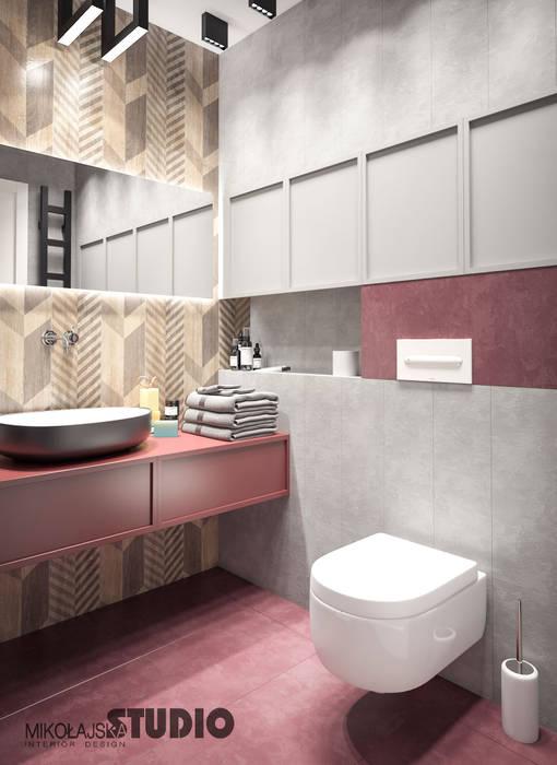 Rosa Badezimmer Badezimmer Von Mikolajskastudio Homify