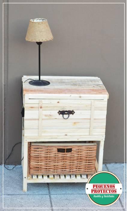 de estilo  por Pequeños Proyectos, Rústico Madera Acabado en madera