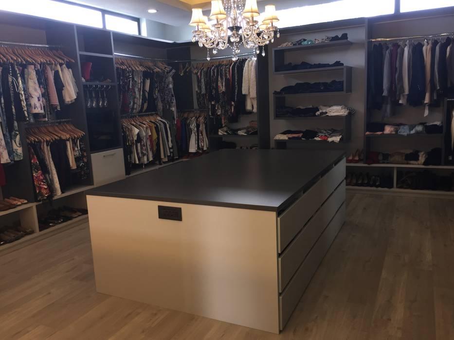 Vestidores y placares modernos de Graftink Interior and Architectural Design Studio Moderno