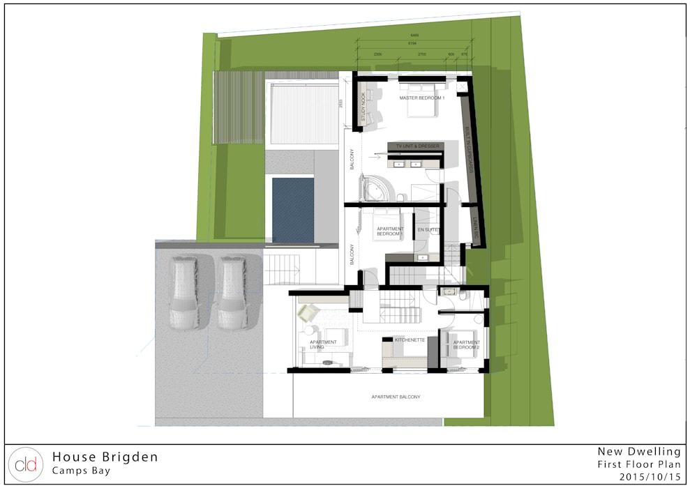 First Floor plan cld architects