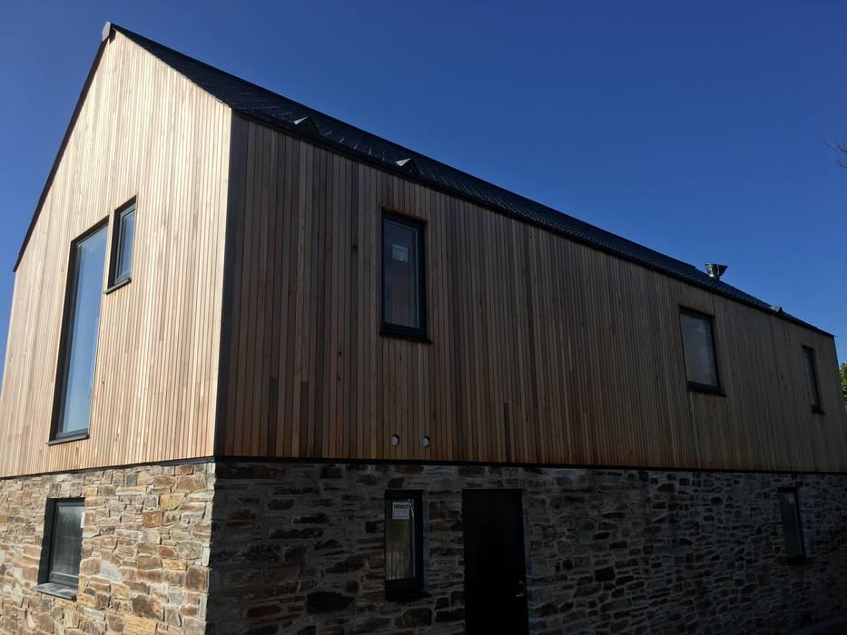 Maisons de style  par Building With Frames, Minimaliste Bois Effet bois
