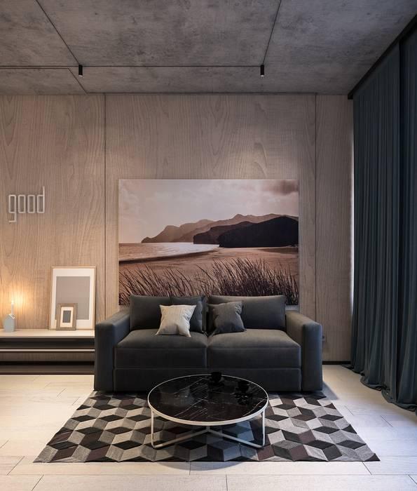 Minimalist bedroom by Zikzak architects Minimalist