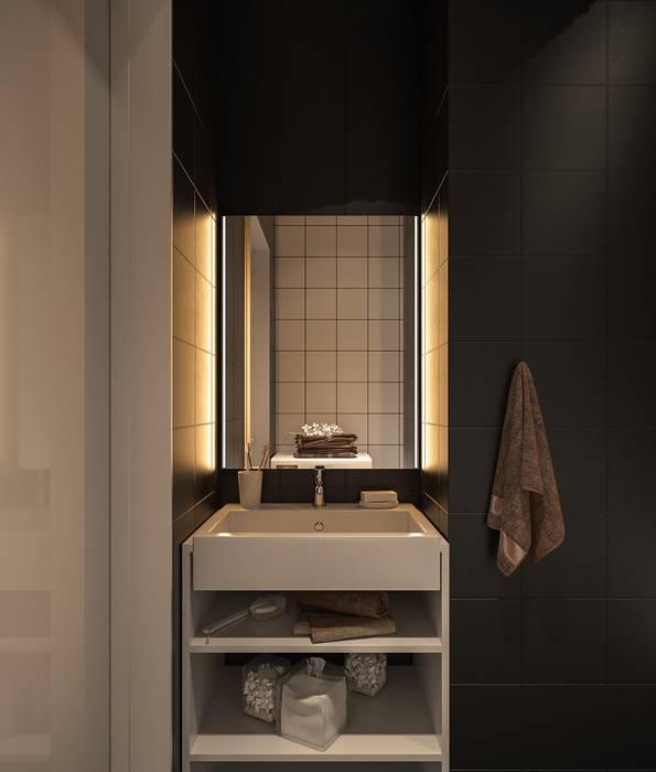 Salle de bain minimaliste par Zikzak architects Minimaliste