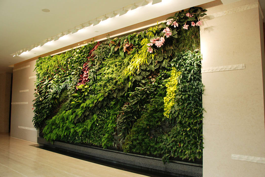 Vertical Garden Surabaya Bangunan Kantor Modern Oleh NISCALA GARDEN | Tukang Taman Surabaya Modern