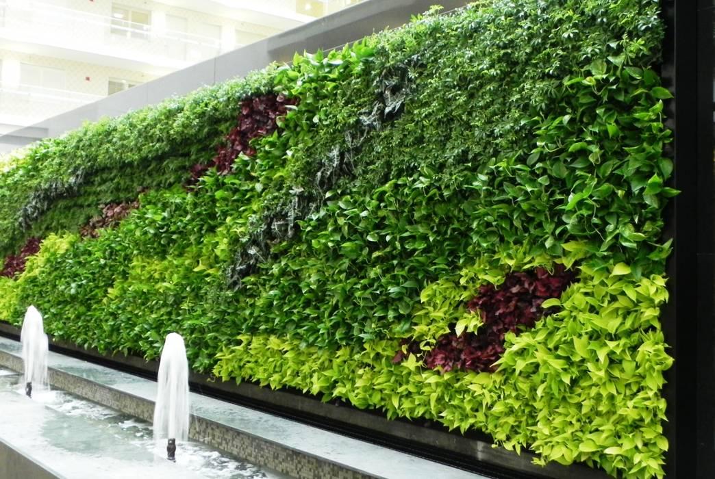 vertical garden surabaya Pusat Perbelanjaan Modern Oleh NISCALA GARDEN | Tukang Taman Surabaya Modern