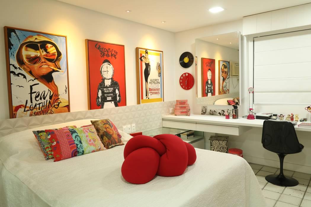 Modern style bedroom by Camila Araújo Arquitetura e Interiores Modern