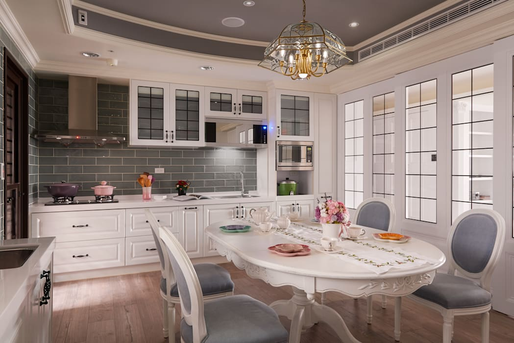 Country style kitchen by kimico.liu Country