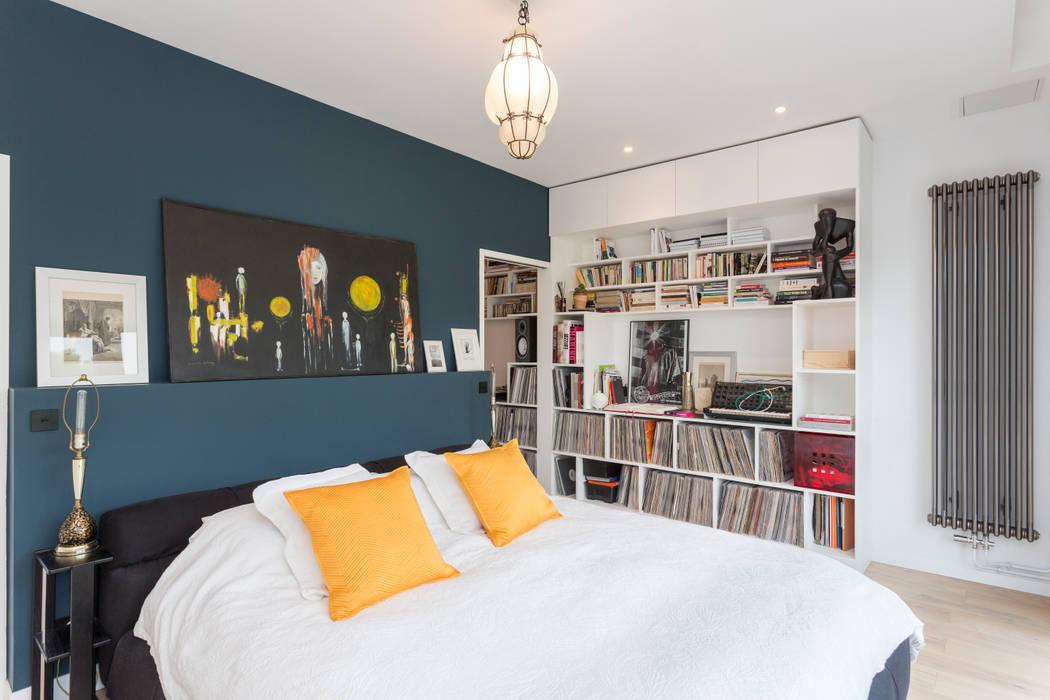Création d'un appartement sur plans: Chambre de style  par Mon Concept Habitation