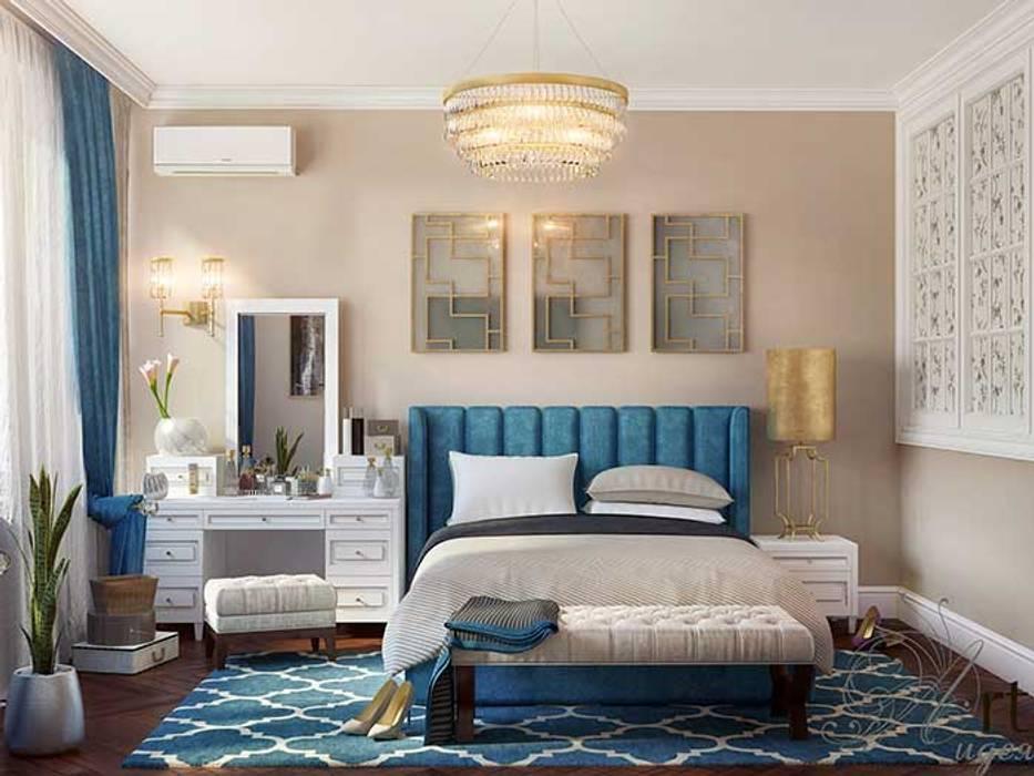 Дизайн интерьера спальни в Симферополе, Россия: Спальни в . Автор – Арт-Идея