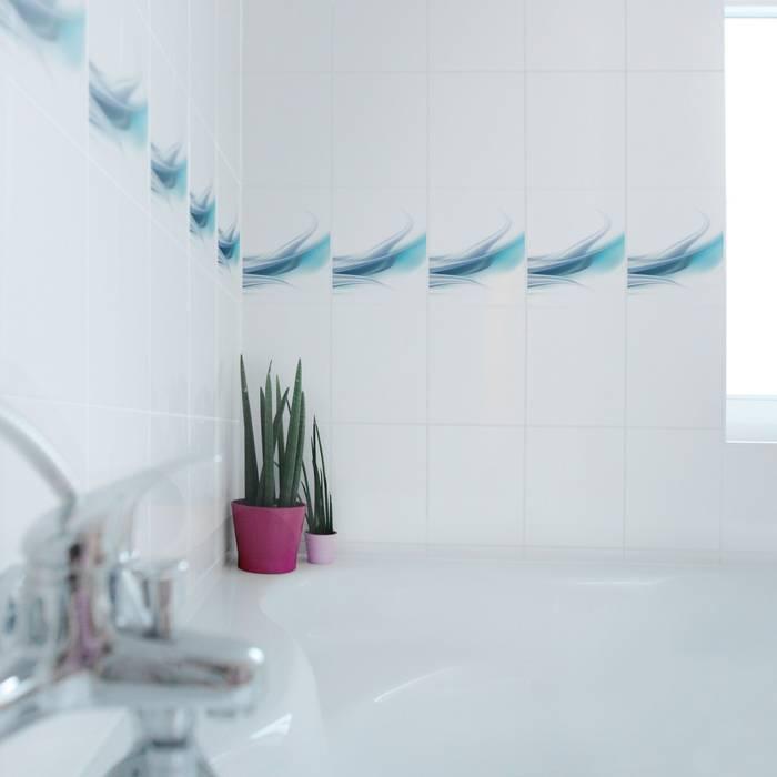 Bilderwelten fliesenaufkleber design: badezimmer von bilderwelten ...
