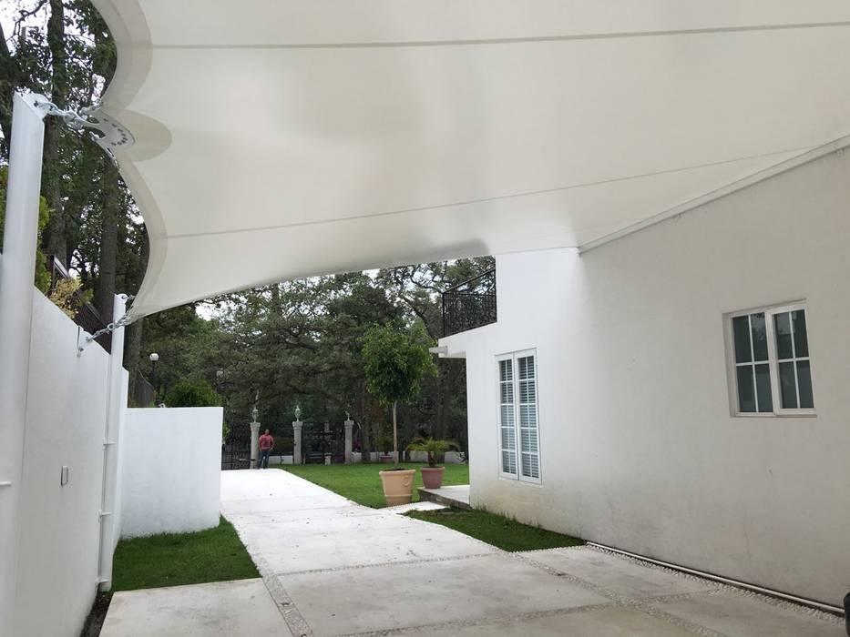 Terrasse de style  par Materia Viva S.A. de C.V.
