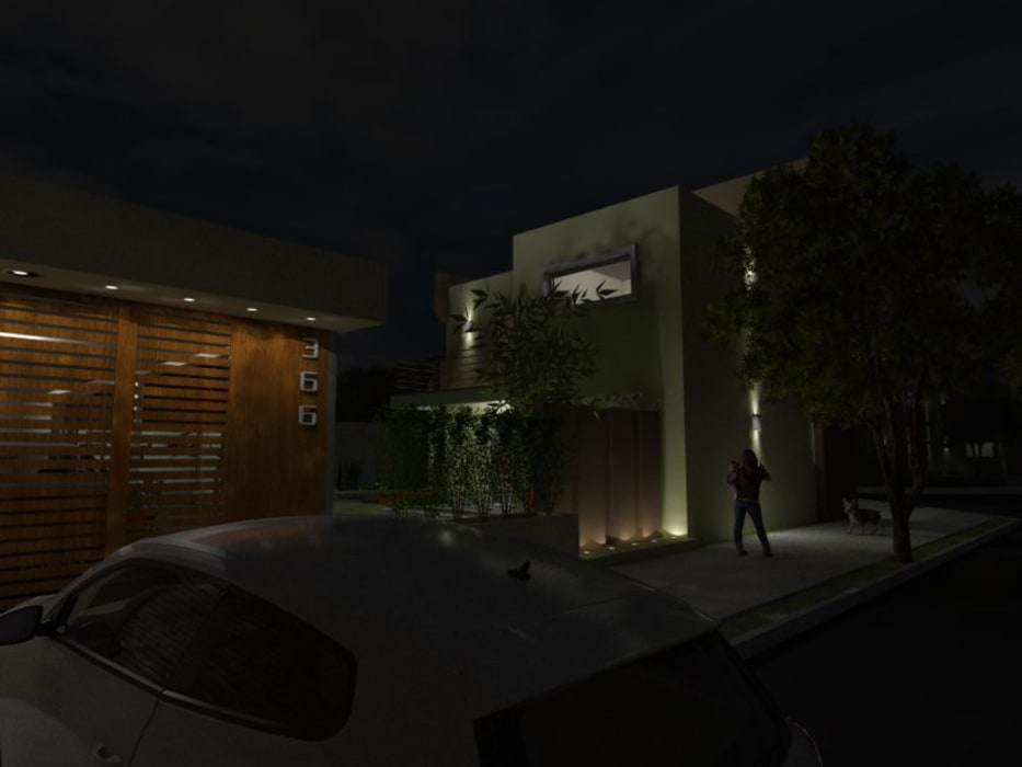 Maisons modernes par Gastón Blanco Arquitecto Moderne