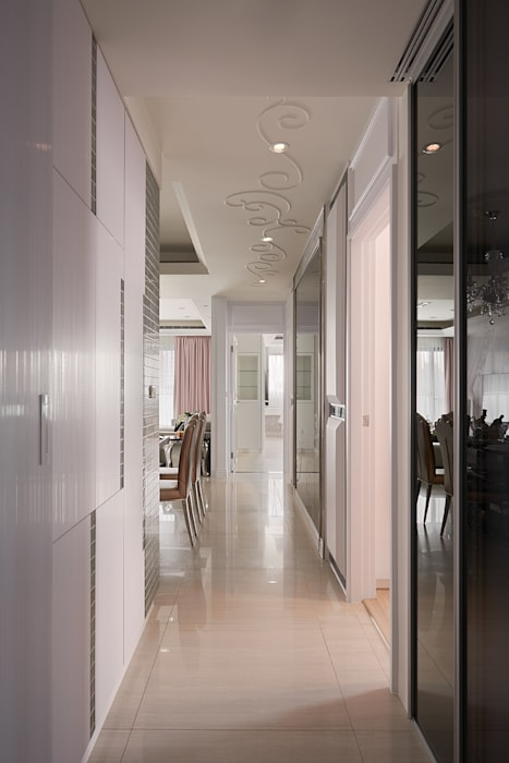 過渡空間之美:  走廊 & 玄關 by 趙玲室內設計