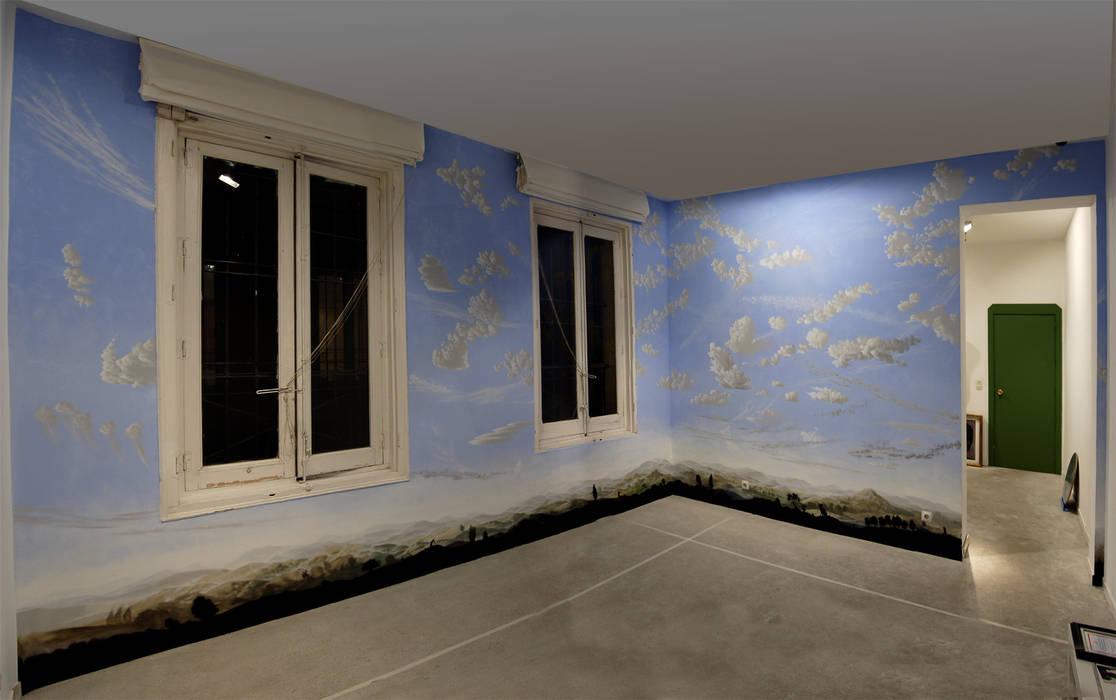 Mural Efimero Paredes De Estilo De Jorge Fin Murals Homify