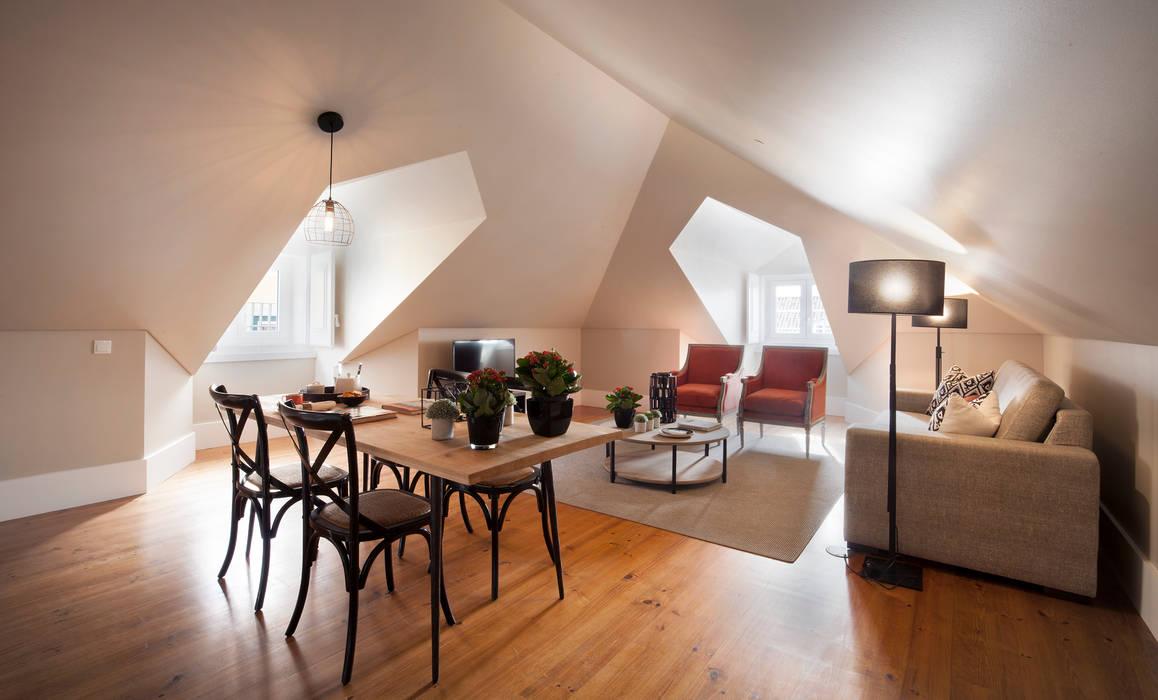 de Pureza Magalhães, Arquitectura e Design de Interiores Ecléctico