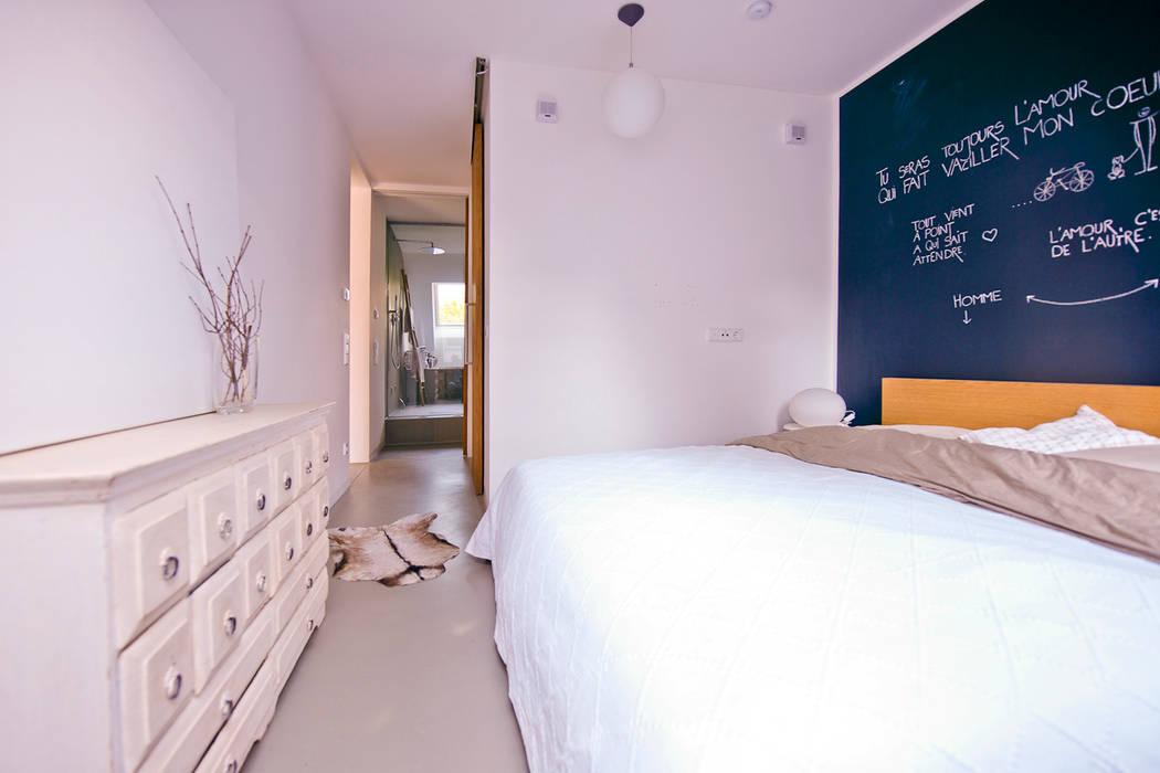140 qm galeriewohnung industriale schlafzimmer von ...