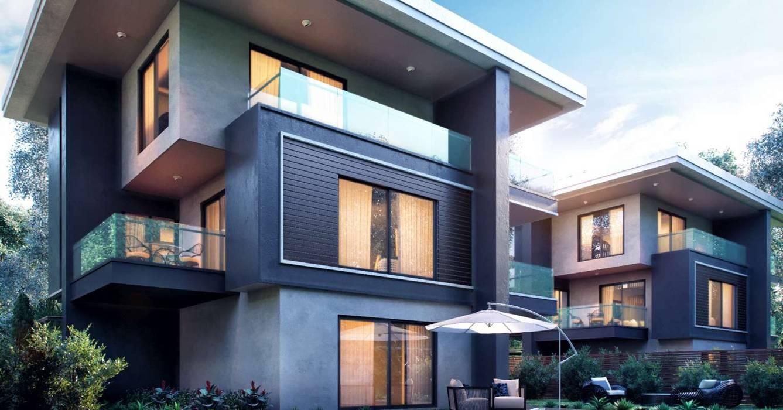 Casas modernas de VERO CONCEPT MİMARLIK Moderno