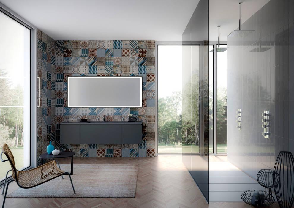Arredobagno ghezzi u2013 proposta 7: bagno in stile in stile moderno di
