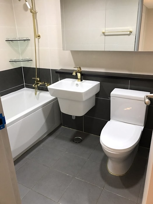 Modern Bathroom by 유쾌한녀석들 Modern