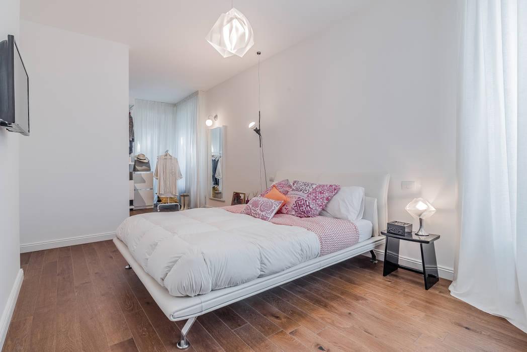 Ristrutturazione appartamento milano, tibaldi: camera da letto in ...