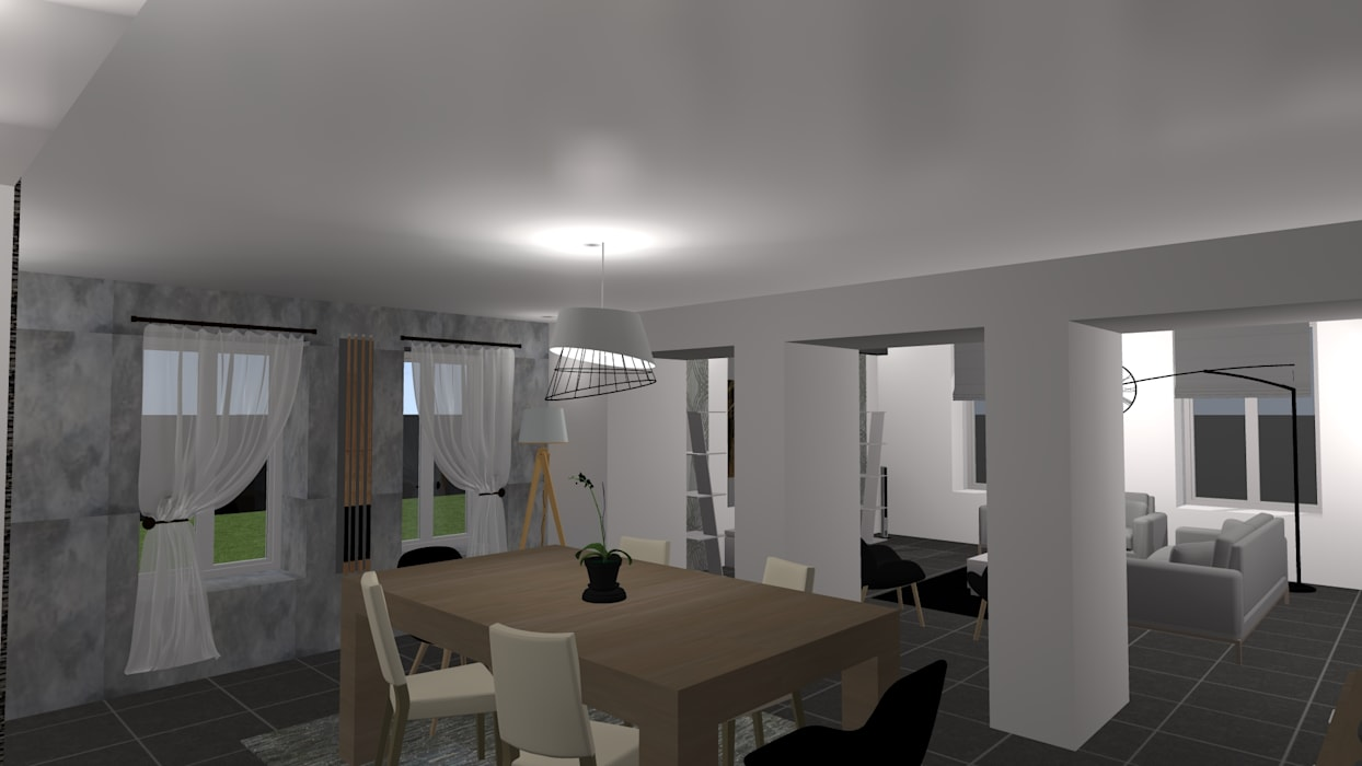 Deco Salle A Manger Scandinave agencement déco rdc maison de village salle à manger