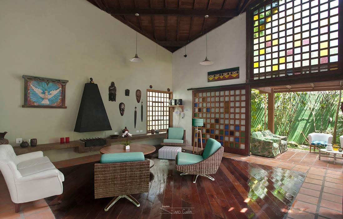 Casa Camburi SET Arquitetura e Construções Portas e janelas tropicais