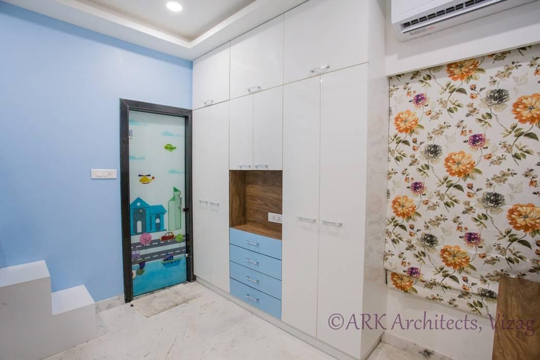 Small Flat, Cosy Interiors Modern nursery/kids room by ARK Architects & Interior Designers Modern