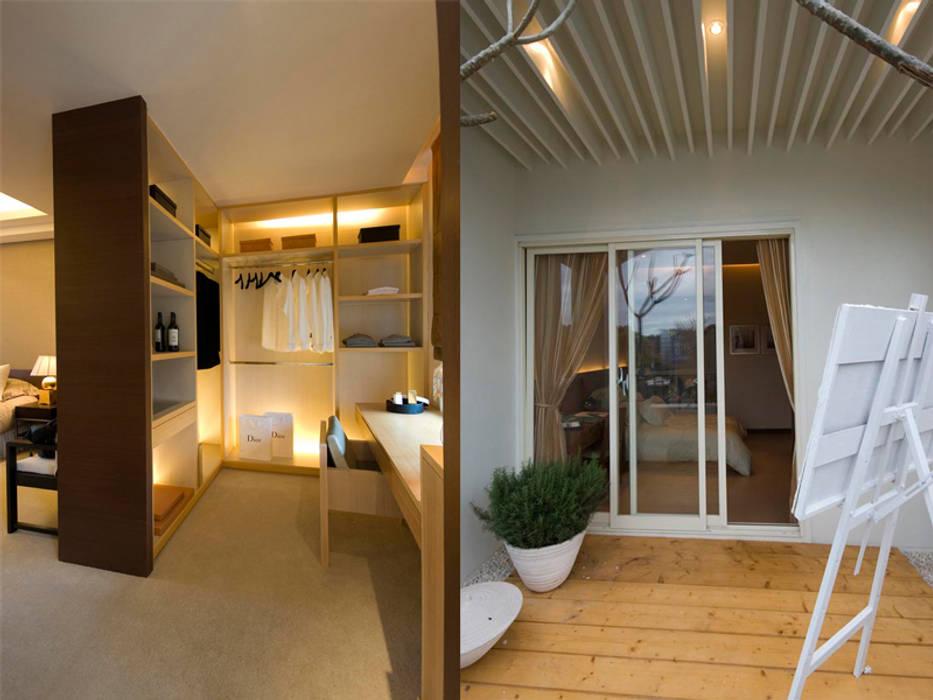 更衣室/陽台 果仁室內裝修設計有限公司 更衣室