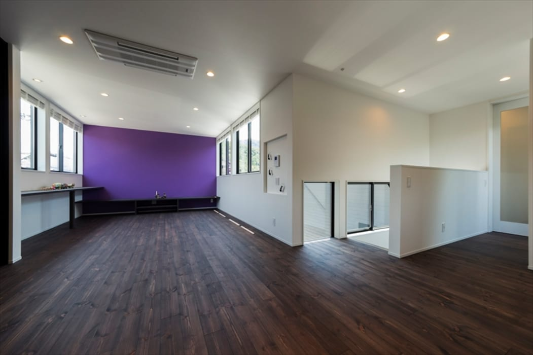 Air Living® Cな家 フォーレストデザイン一級建築士事務所 モダンデザインの リビング