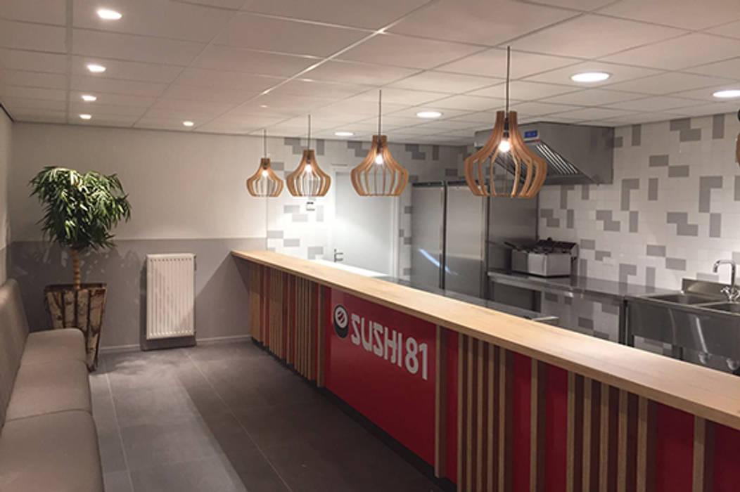 Modern gastronomy by Anne-Carien Interieurarchitect Modern