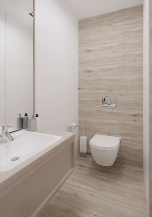 Mała łazienka Wc Styl W Kategorii łazienka