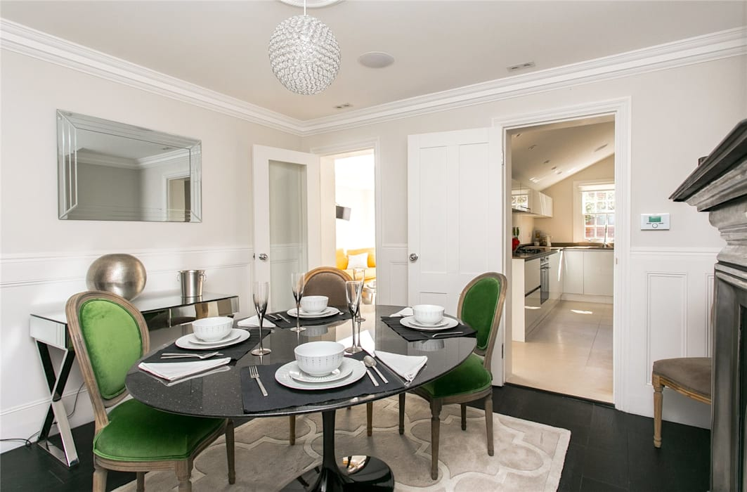 Lillieshall Road, London, SW4 Modern Dining Room by APT Renovation Ltd Modern