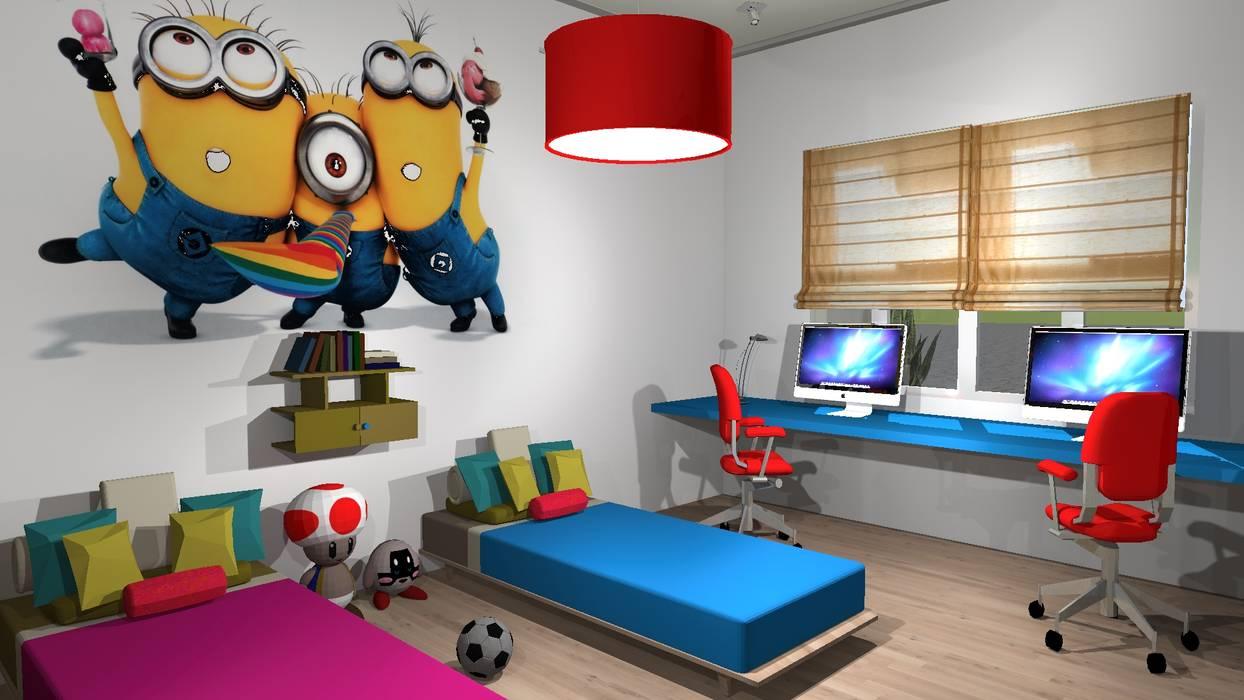 Dormitorio de ni os dormitorios infantiles de estilo por for Diseno de habitaciones infantiles