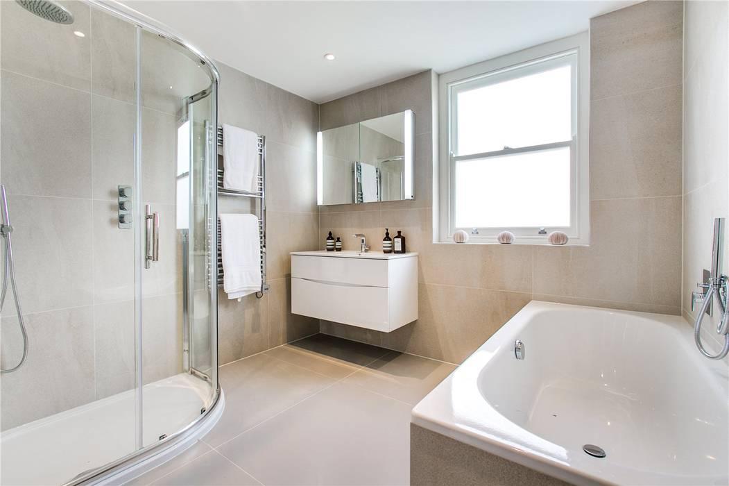 Perrymead Street, SW6 Modern Bathroom by APT Renovation Ltd Modern