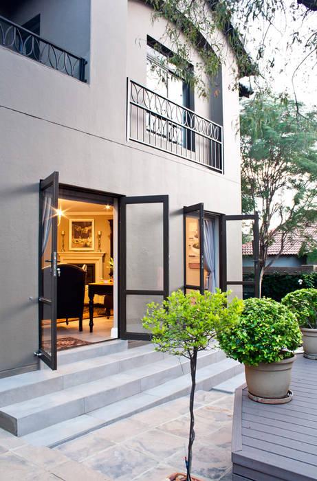 Terrasse de style  par Black Canvas Architectural Interiors,