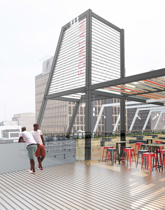 Bars & clubs by A4AC Architects,