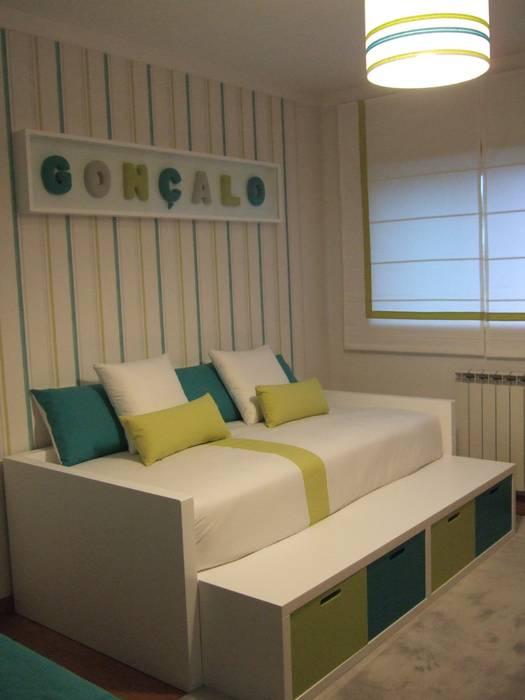 Decoração quarto de criança MAMAISON Atelier Interiores Quarto de criançasAcessórios e Decoração Verde