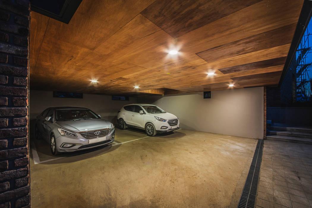 Garage/shed by 디자인 인사이트 (DESIGN INSITE), Modern