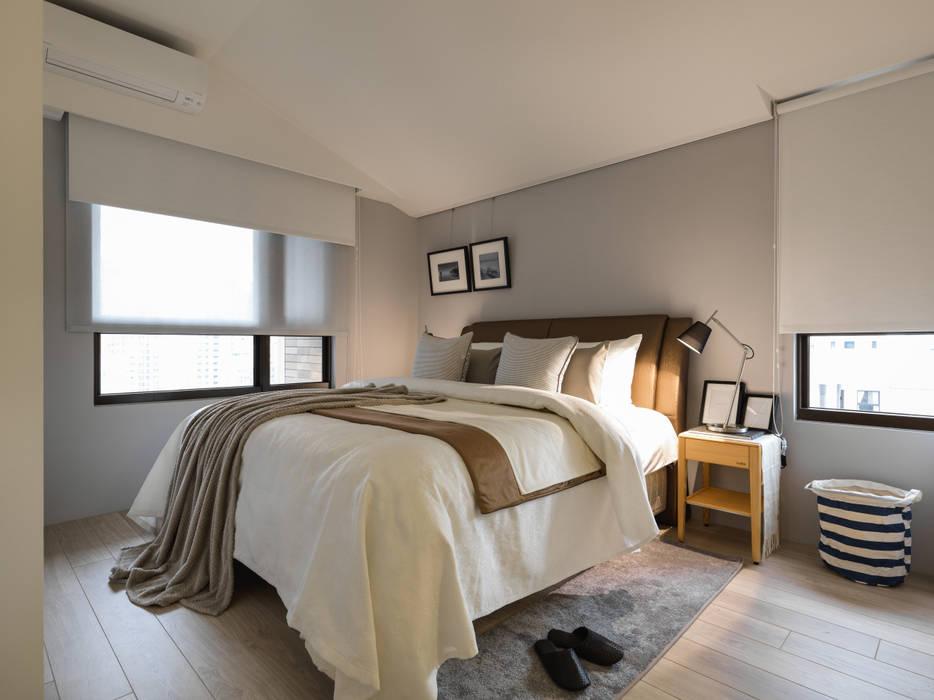 臥房 根據 存果空間設計有限公司 簡約風