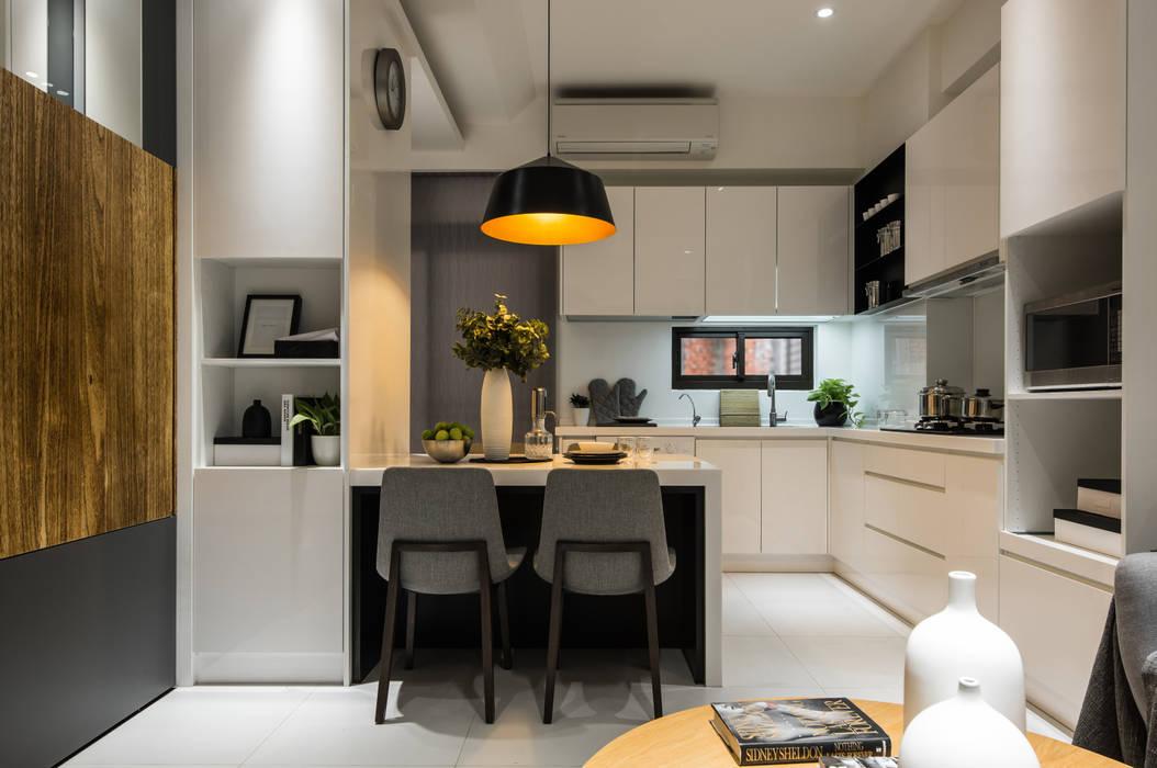 餐廚區:  餐廳 by 存果空間設計有限公司
