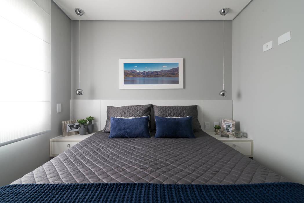 Danyela Corrêa Arquitetura Modern Bedroom