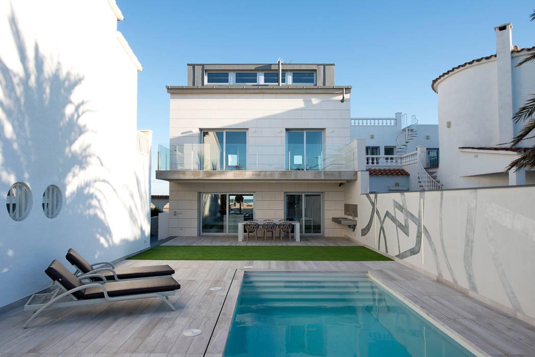 Maisons minimalistes par HD Arquitectura d'interiors Minimaliste