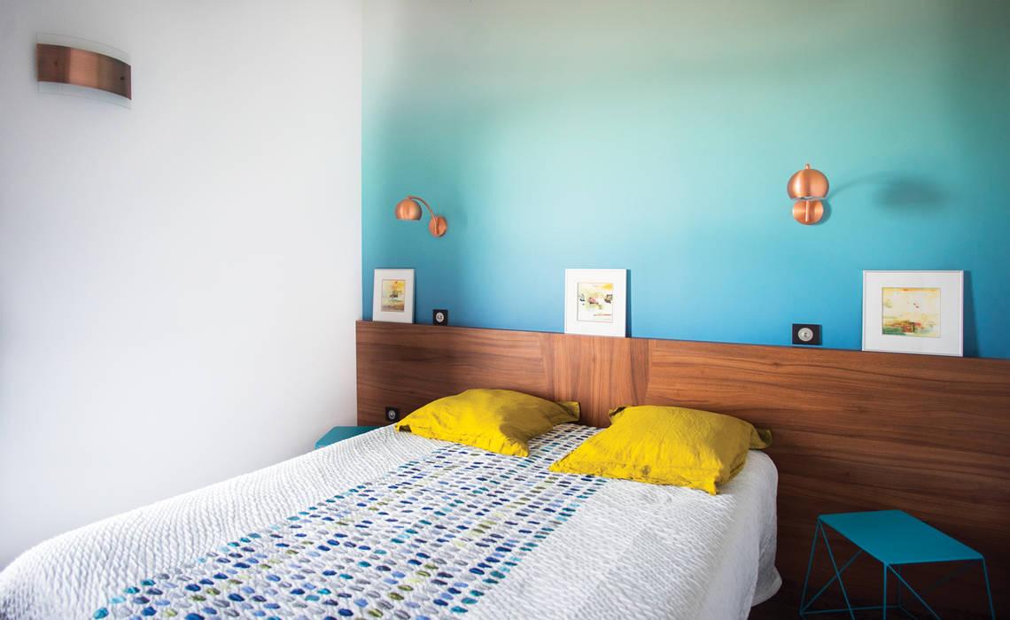 Couleur pour un appartement contemporain chambre moderne par ...