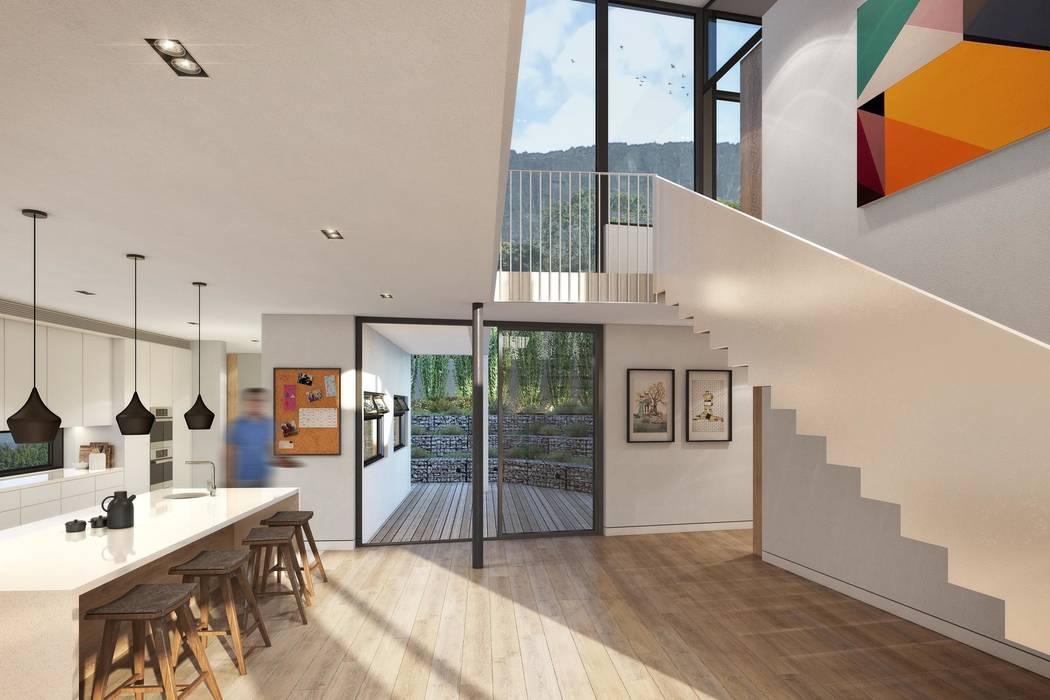 Kunst Architecture & Interiors Modern Kitchen