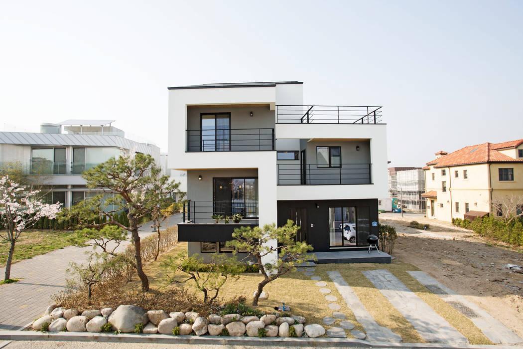 창조하우징 Modern houses