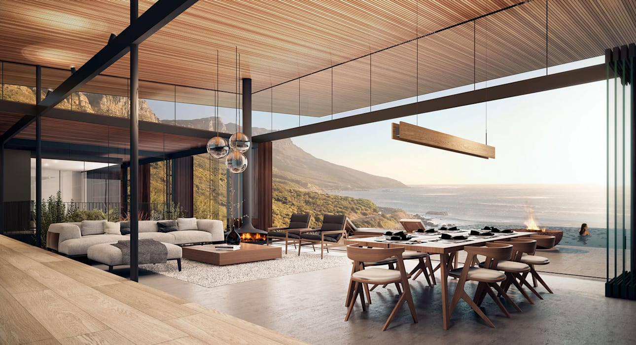 Kunst Architecture & Interiors Modern Living Room