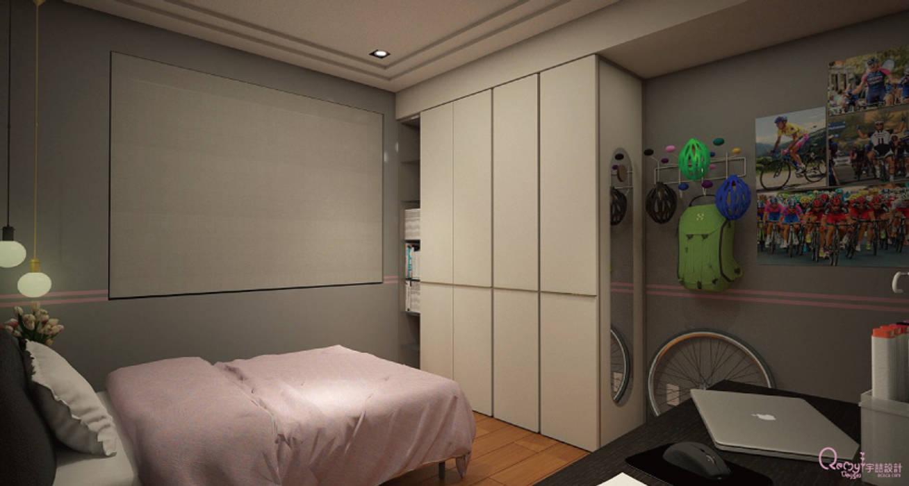 🍀:  臥室 by 宇喆室內裝修設計有限公司