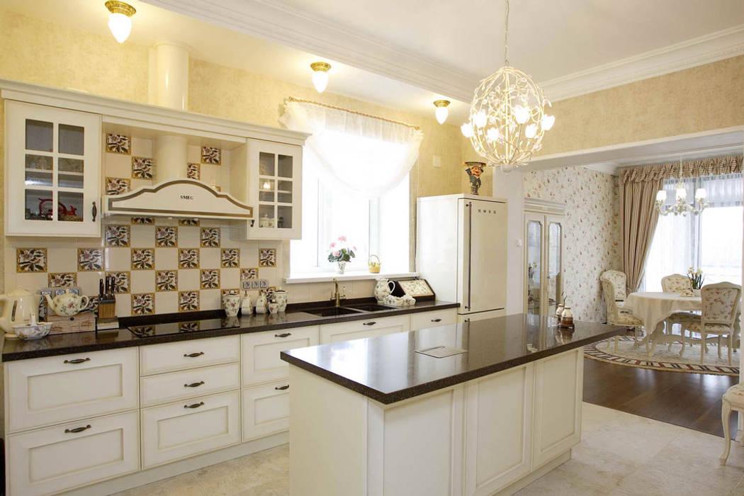 Дом в стиле прованс Кухня в стиле кантри от дизайн-студия Пространство Дизайна Кантри