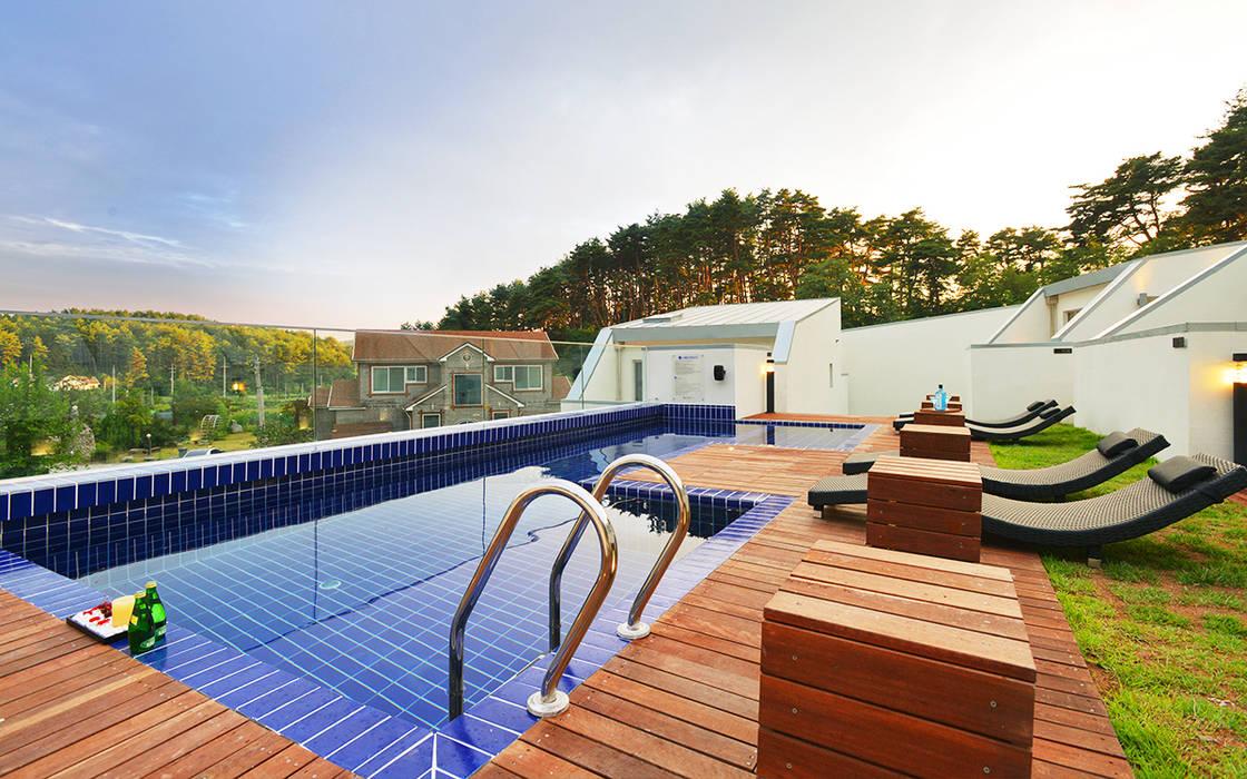 Pool by 건축사사무소 어코드 URCODE ARCHITECTURE